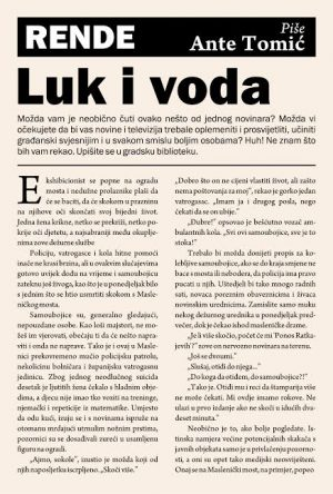 Luk i voda - Ante Tomić   Rende